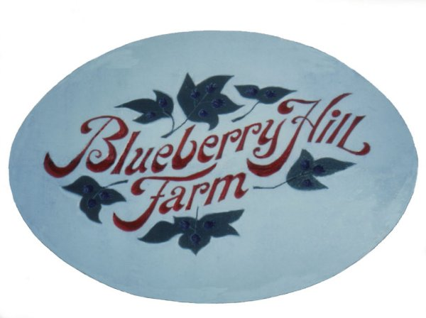 text blueberry hill